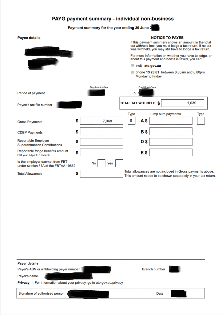 איך נראים המסמכים להוצאת ויזת עבודה וחופשה לאוסטרליה שנה שנייה/שלישית 417/462?